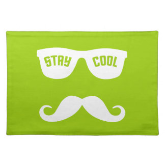 STAY COOL custom placemats