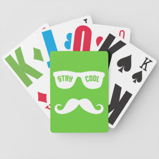 STAY COOL custom playing cards