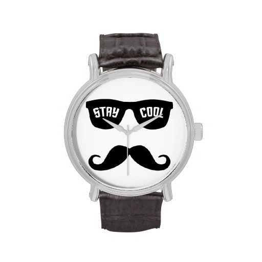 STAY COOL custom watches