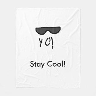 Stay Cool! Fleece Blanket
