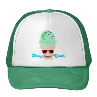 Stay Cool Ice Cream Trucker Hats