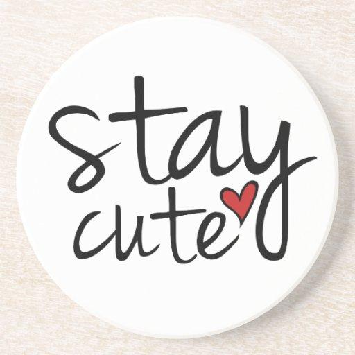 Stay Cute Coaster