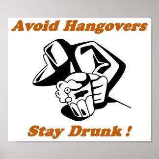 Stay Drunk Full Print