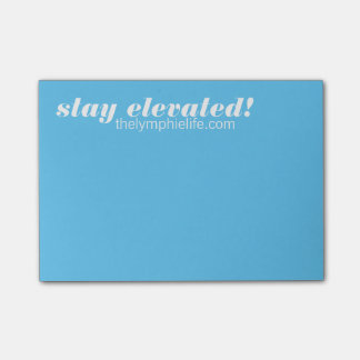 Stay Elevated Post-It Notes