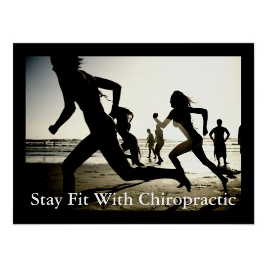 Stay Fit With Chiropractic Office Poster Customise