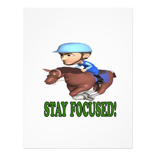Stay Focused Flyer Design
