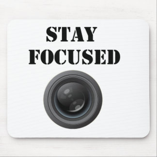 stay focused mousepad