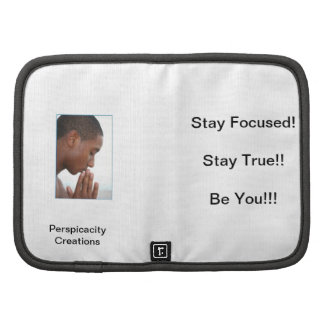 Stay Focused Portfolio Folio Planners