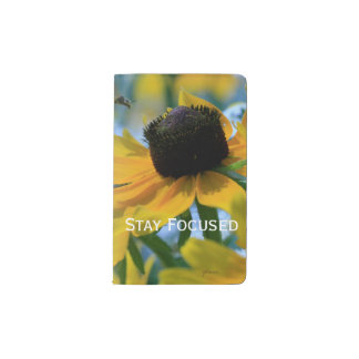 Stay Focused Quote Daisies