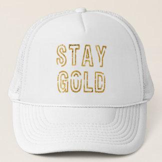 Stay Gold Trucker Hat