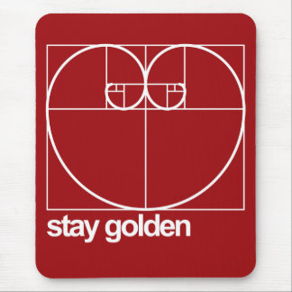 Stay Golden Mouse Mat