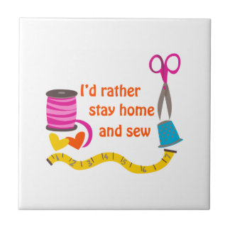 STAY HOME AND SEW TILES