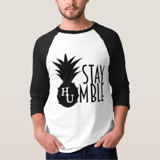 Stay Humble Baseball Tee