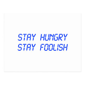 stay-hungry-stay-foolish-lcd-blue.png postcard