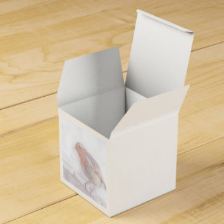Stay, little cheerful Robin! Wedding Favour Boxes