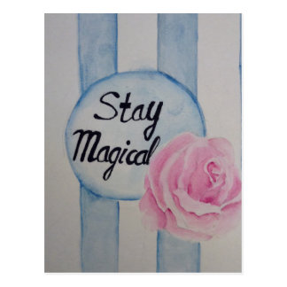 Stay magical postcards