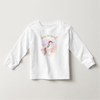 Stay Magical Rainbow Unicorn Tee