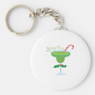 Stay Merry Key Chains