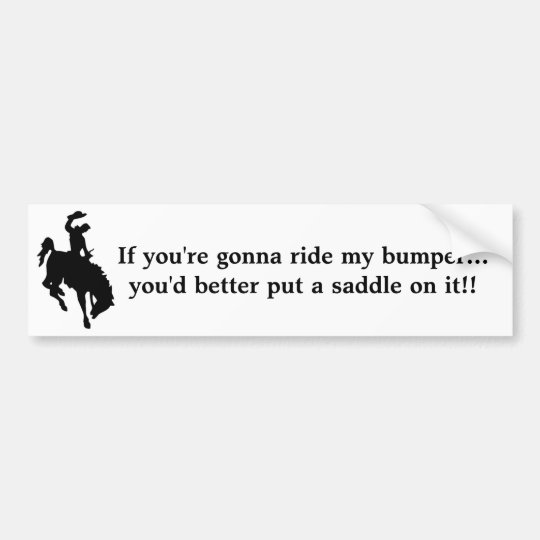 Stay Off My A** Bumper Sticker