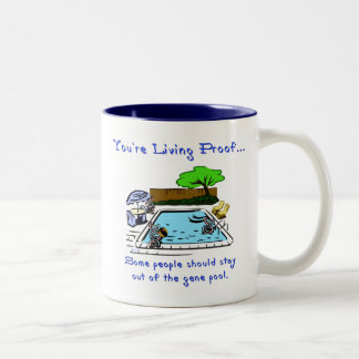 Stay Out of the Gene Pool Coffee Mugs