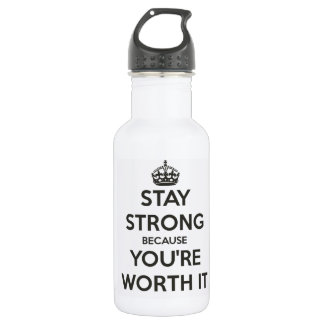 Stay Strong 532 Ml Water Bottle