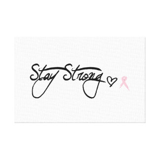 stay strong gallery wrapped canvas
