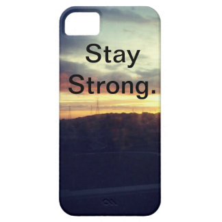 Stay Strong. iPhone 5 Cases