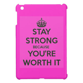 Stay Strong iPad Mini Cases