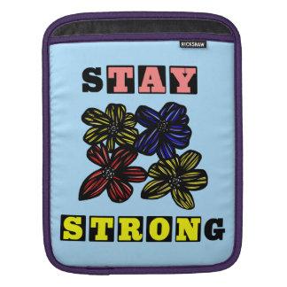 """Stay Strong"" Ipad Soft Case iPad Sleeve"