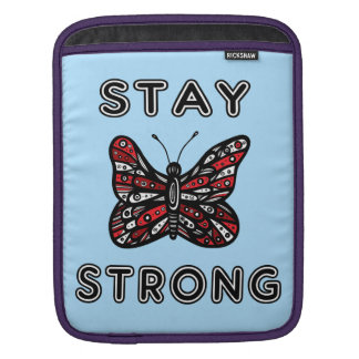 """""""Stay Strong"""" Ipad Soft Case Sleeves For iPads"""