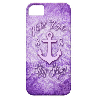 Stay strong nautical pancreatic cancer products. iPhone 5 cover