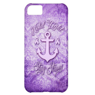 Stay strong nautical pancreatic cancer products. iPhone 5C case