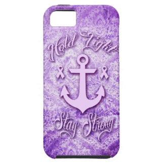 Stay strong nautical pancreatic cancer products. tough iPhone 5 case
