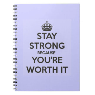 Stay Strong Note Books