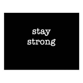 Stay Strong Postcard