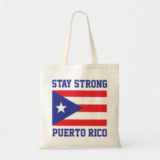 Stay Strong Puerto Rico after hurricane Maria Tote Bag