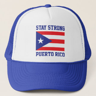 Stay Strong Puerto Rico after hurricane Maria Trucker Hat