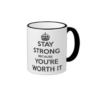 Stay Strong Ringer Mug