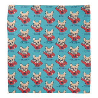 Stay strong with Super Frenchie Bandana