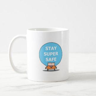 STAY SUPER SAFE mug. Coffee Mug