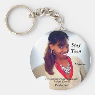 stay teen keychain