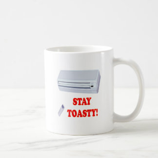 Stay Toasty Basic White Mug