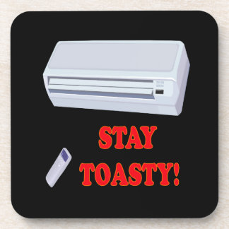 Stay Toasty Beverage Coasters
