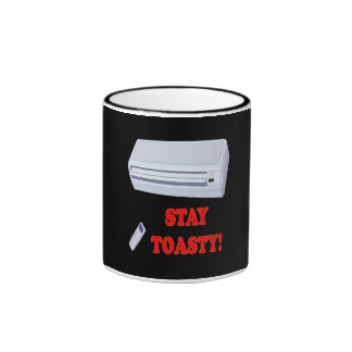Stay Toasty Ringer Mug