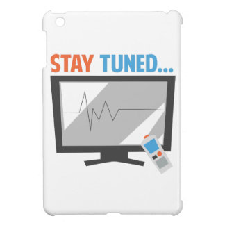 Stay Tuned iPad Mini Cover