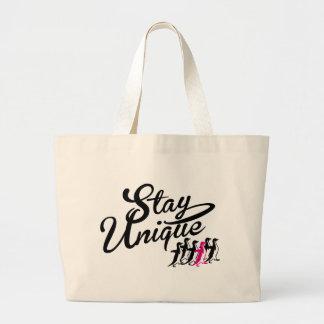 stay unique canvas bags