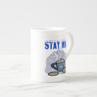 Stay Warm 4 Bone China Mug