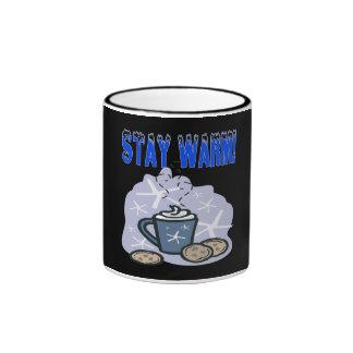 Stay Warm 4 Ringer Mug