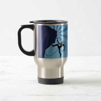 Stay Warm Ice Climber's Coffee Mug