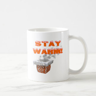 Stay Warm Basic White Mug